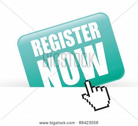 Register now design.