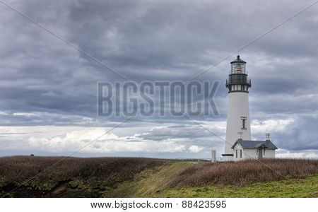 Yaquina bay lighthouse.