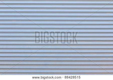 Metal Roller Shutter For Background