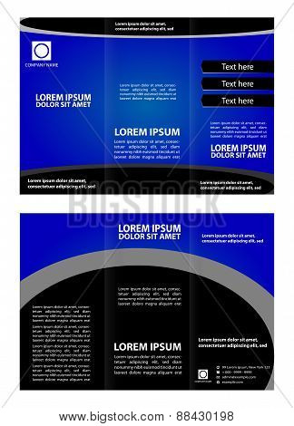 Brochure template creative