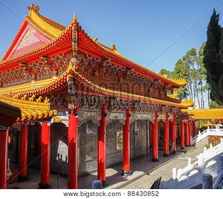 Wen Wu (Wenwu) Temple on Sun Moon Lake in Taiwan