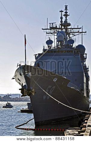 The USS Princeton