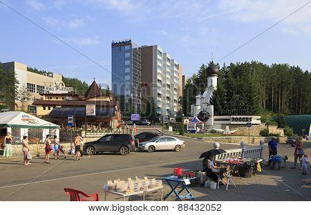 Belokurikha resort - the most famous Siberian health resort.