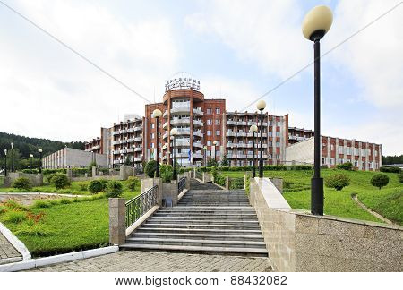Sanatorium Health Resort Kuzbass resort Belokurikha.