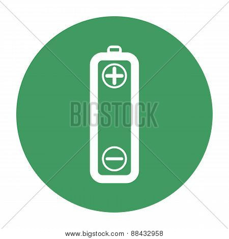 Vector Battery Icons On White Background
