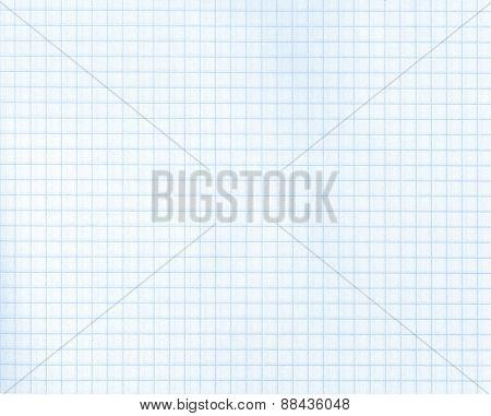 Detailed blank math paper pattern