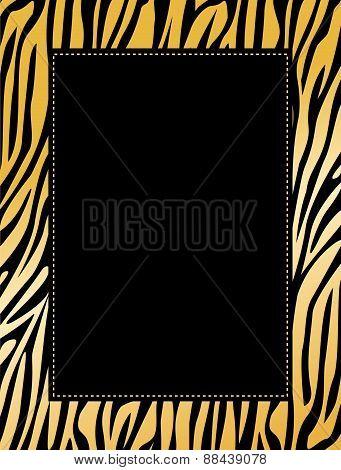 Animal Print Border / Frame