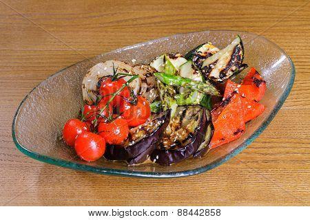 Japanese vegetables stir-fry