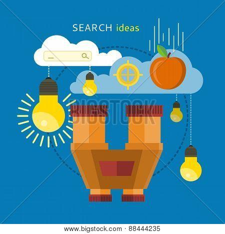 Search Idea Concept