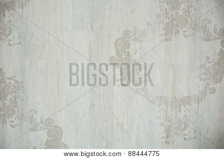 Vintage Background With Ornament Tree Structure