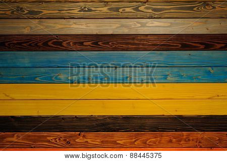 Color Full Wood Texture  Background Colorfull Panels