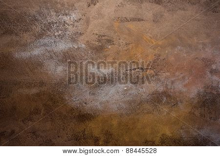 Rusty Metal Corroded Texture Background