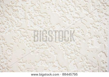 Textured White Plaster Texture Background