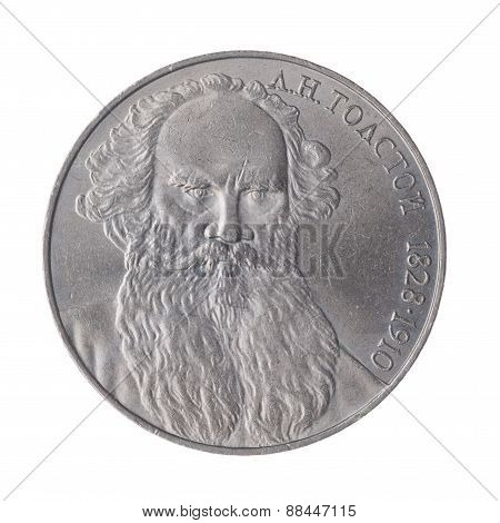 Ln Tolstoy Ussr Ruble.
