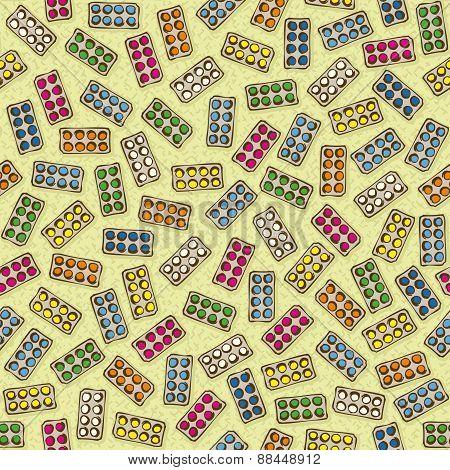 Pharmaceutical Seamless vector pattern