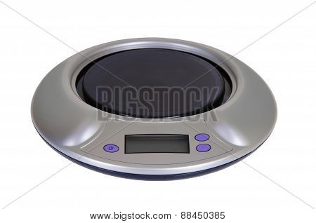 kitchen scale isolated on a white background