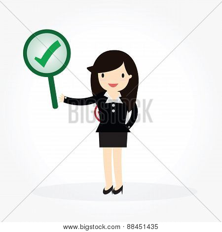 Business Woman Concept