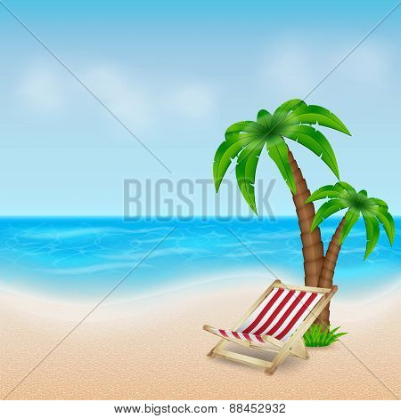 Tropical sea and beach