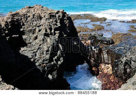 Waves Under Rock