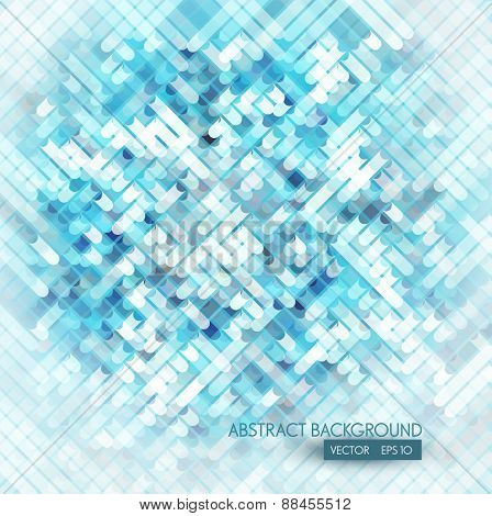 vector abstract background with blue elements
