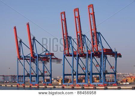 Port of Malaga, Spain