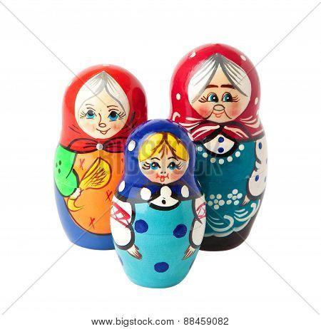 Matrioska Russian Dolls