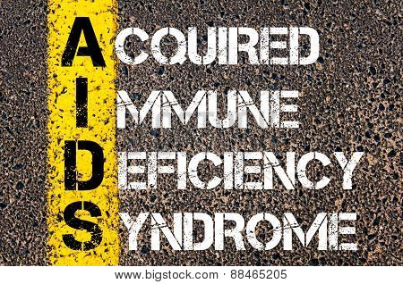 Acronym Aids As Acquired Immune Deficiency Syndrome