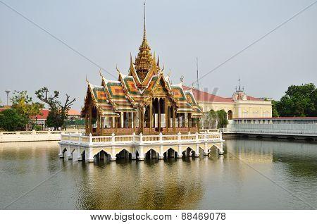 Bang Pa-in Palace In Ayuthaya, Thailand.