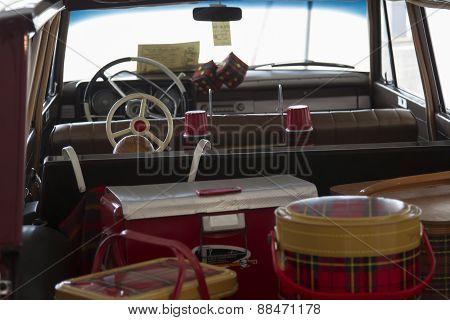 1964 Studebaker Wagonairre Car Inside