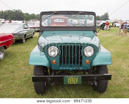 1965 Willys Jeep Front View