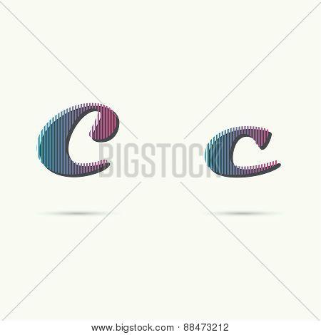 Logo icon design template elements.