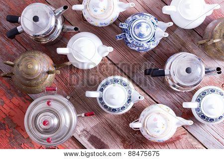 Army Of Tea Pots