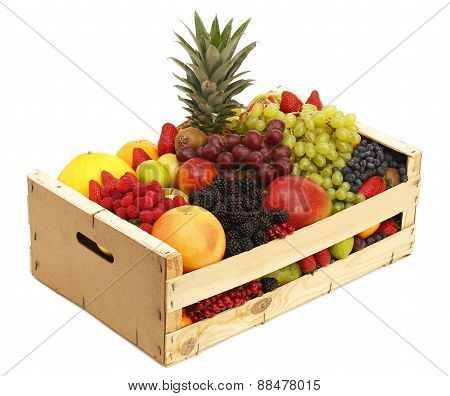 Box With Assorted Fruit