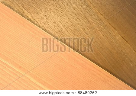 Pastel Tone And Walnut Wood Veneer Background