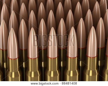 Bullets (clipping path included)