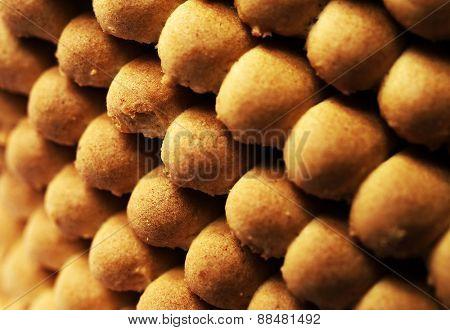 Biscuit Texture Closeup Details