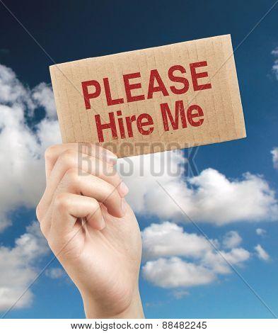 Please Hire Me