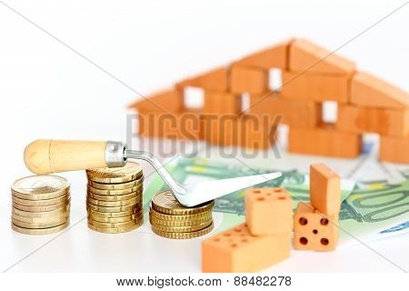 Bricks With House
