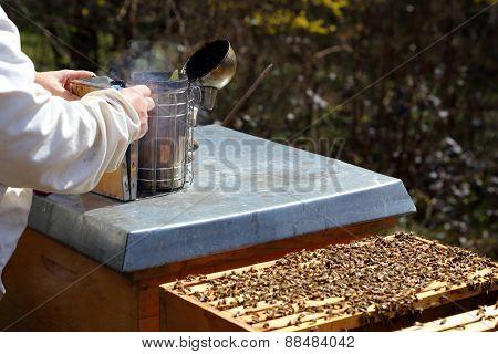 Preparing A Smoker