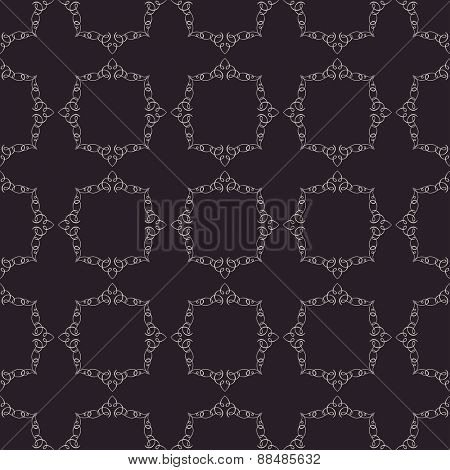 seamless vintage background. Calligraphic ornament pattern texture wallpaper
