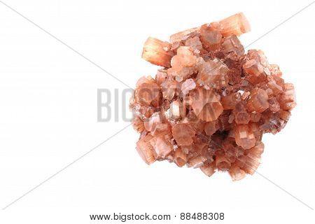 Aragonite Isolated
