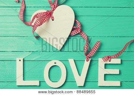 Word Love And Heart - Symbols Of Love