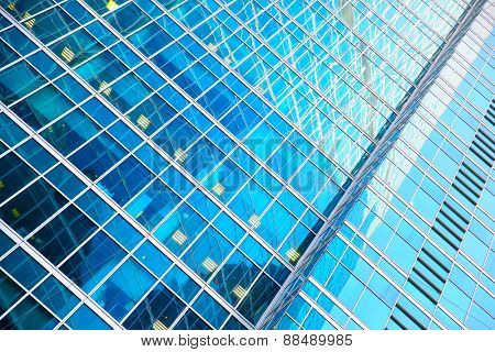 Modern office building - architectural and business background