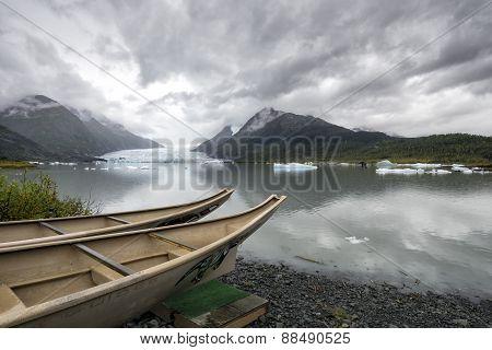 Alaska Float Trip - Glacier Lake