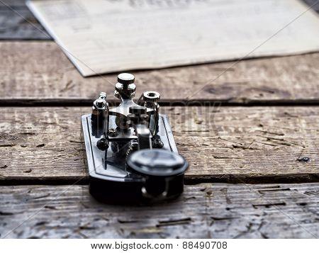 Telegraph Machine - Closeup
