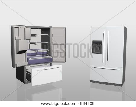 Household Appliances, Fridge,
