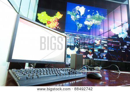 modern business information center