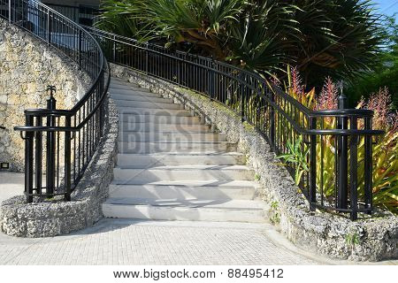 Coral Stairway