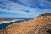 picture of canary-islands  - Graciosa Island and Mirador del Rio Lanzarote Island Canary Islands Spain - JPG