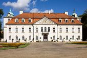 stock photo of manor  - The manor of Nieborow was built in 16th century. It is today the subsidiary of the National Museum in Warsaw.